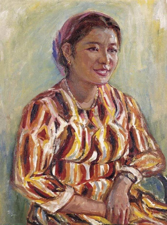 广州美院油画系主任、女油画家徐坚白插图61