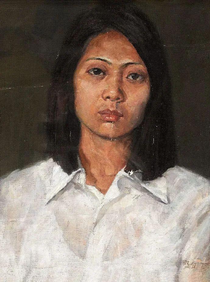 广州美院油画系主任、女油画家徐坚白插图63