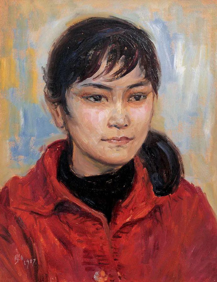广州美院油画系主任、女油画家徐坚白插图65