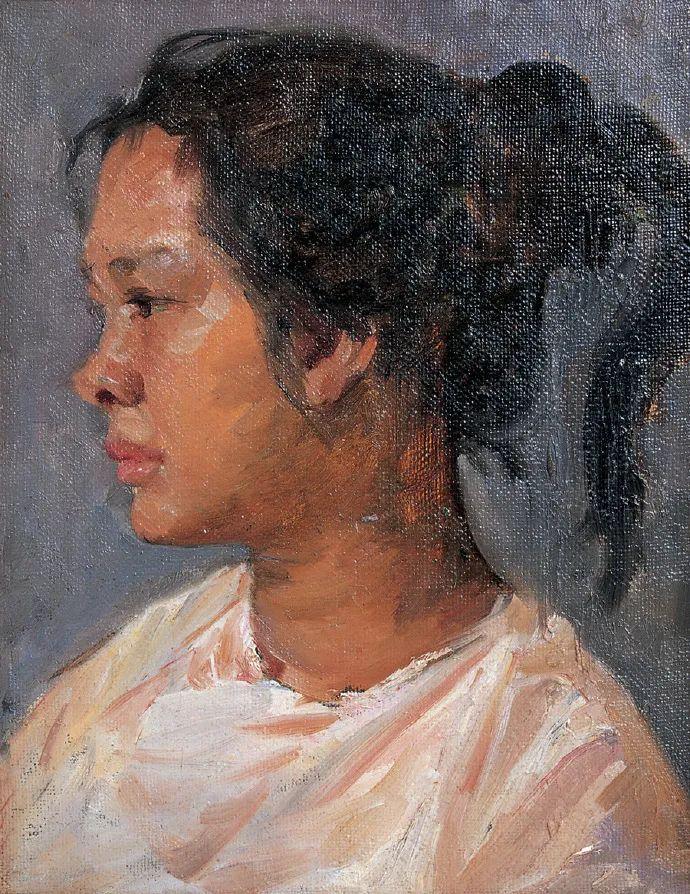广州美院油画系主任、女油画家徐坚白插图67