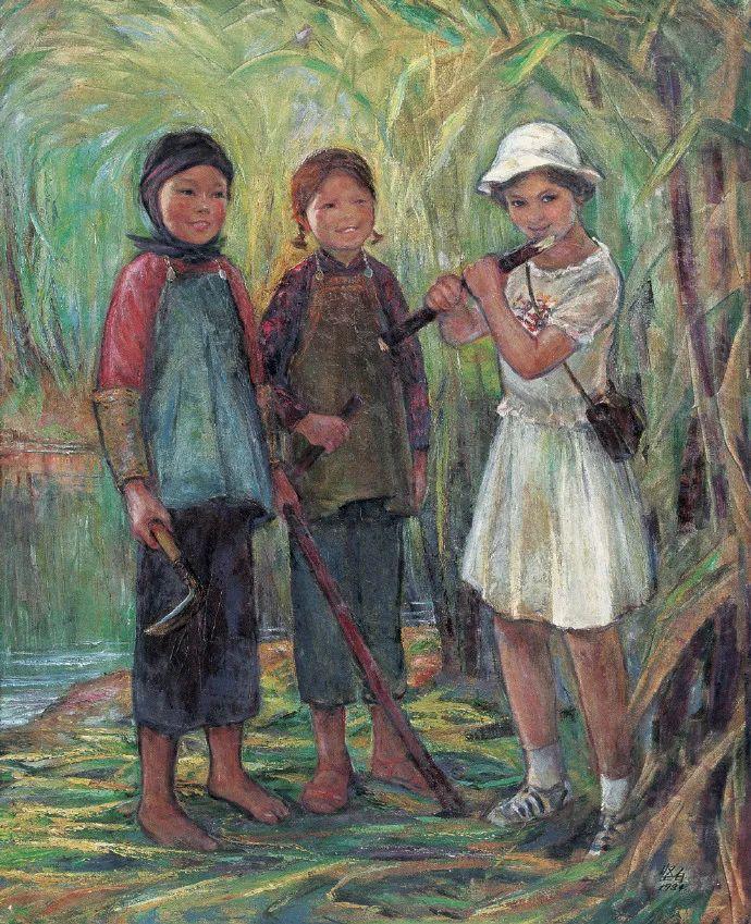 广州美院油画系主任、女油画家徐坚白插图69