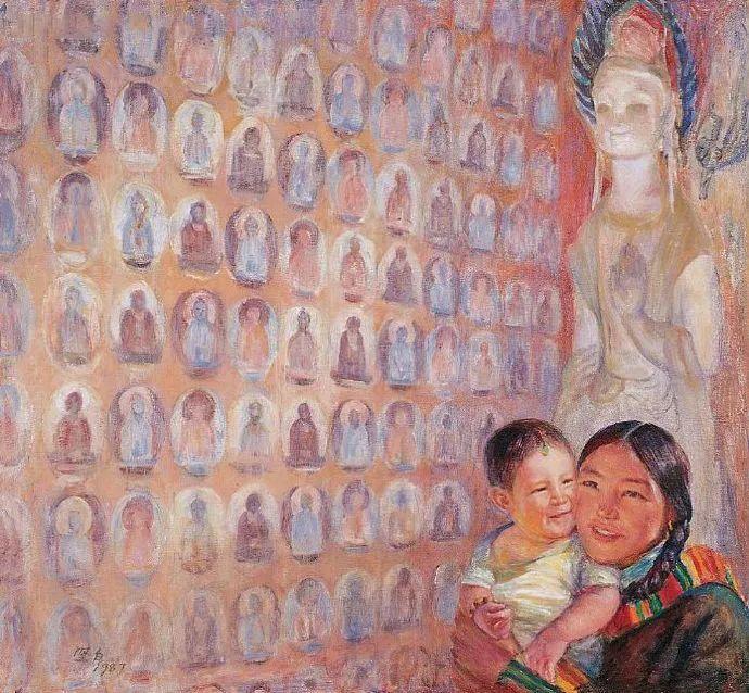 广州美院油画系主任、女油画家徐坚白插图77