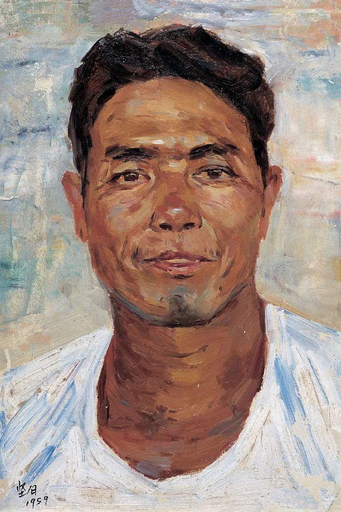 广州美院油画系主任、女油画家徐坚白插图87