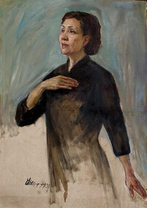 广州美院油画系主任、女油画家徐坚白插图133