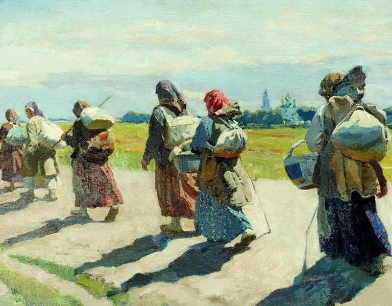 俄罗斯艺术家联盟的创始人——维诺格拉多夫插图31
