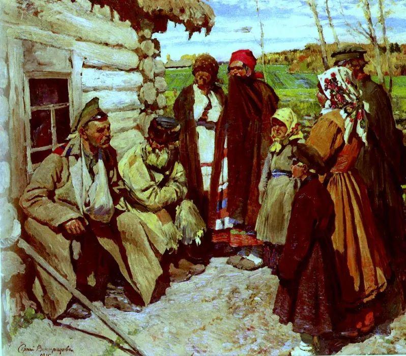 俄罗斯艺术家联盟的创始人——维诺格拉多夫插图35