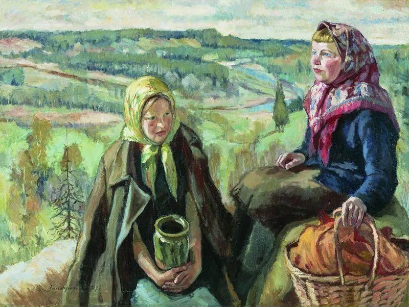 俄罗斯艺术家联盟的创始人——维诺格拉多夫插图51