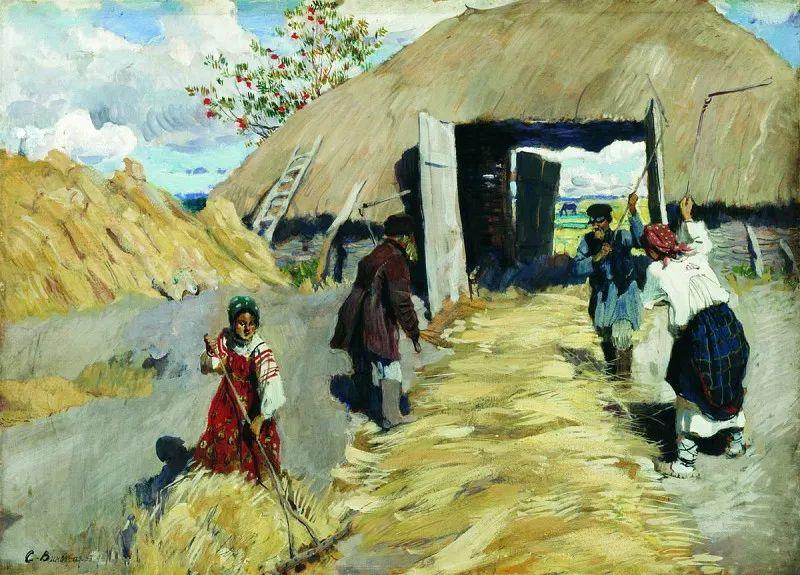 俄罗斯艺术家联盟的创始人——维诺格拉多夫插图57