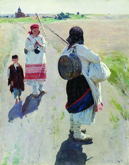 俄罗斯艺术家联盟的创始人——维诺格拉多夫插图77
