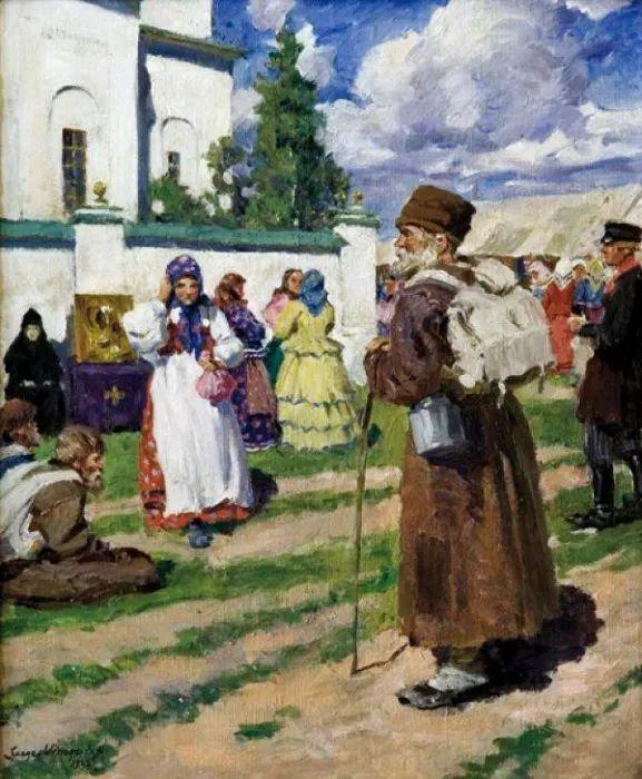 俄罗斯艺术家联盟的创始人——维诺格拉多夫插图89