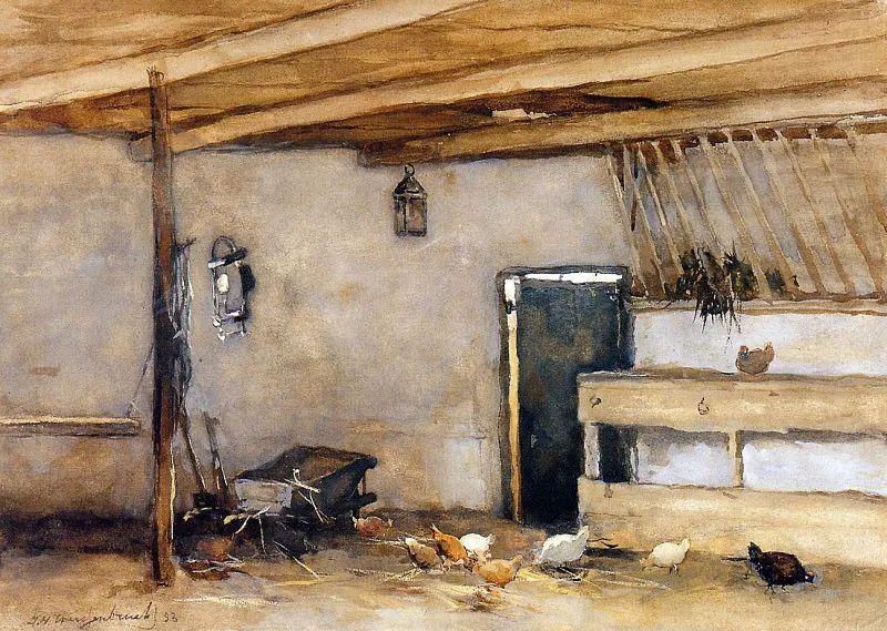 海牙画派代表人物——维西恩布鲁奇插图67
