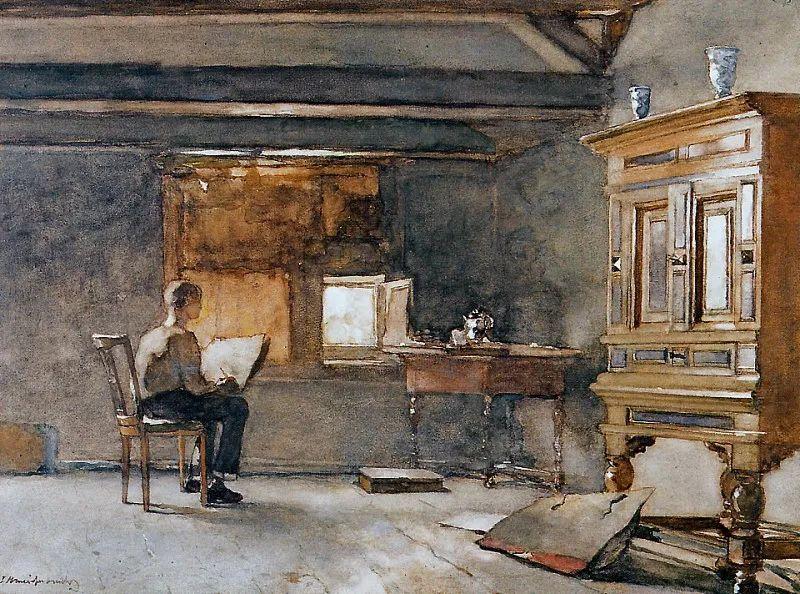 海牙画派代表人物——维西恩布鲁奇插图69