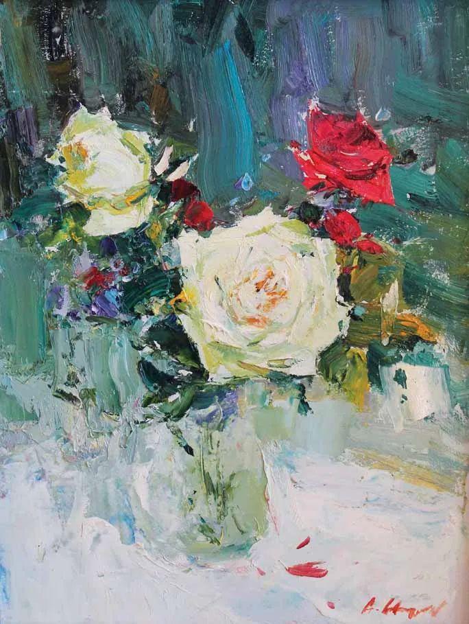 伊诺泽姆采夫的油画,总让人看了意犹未尽插图3