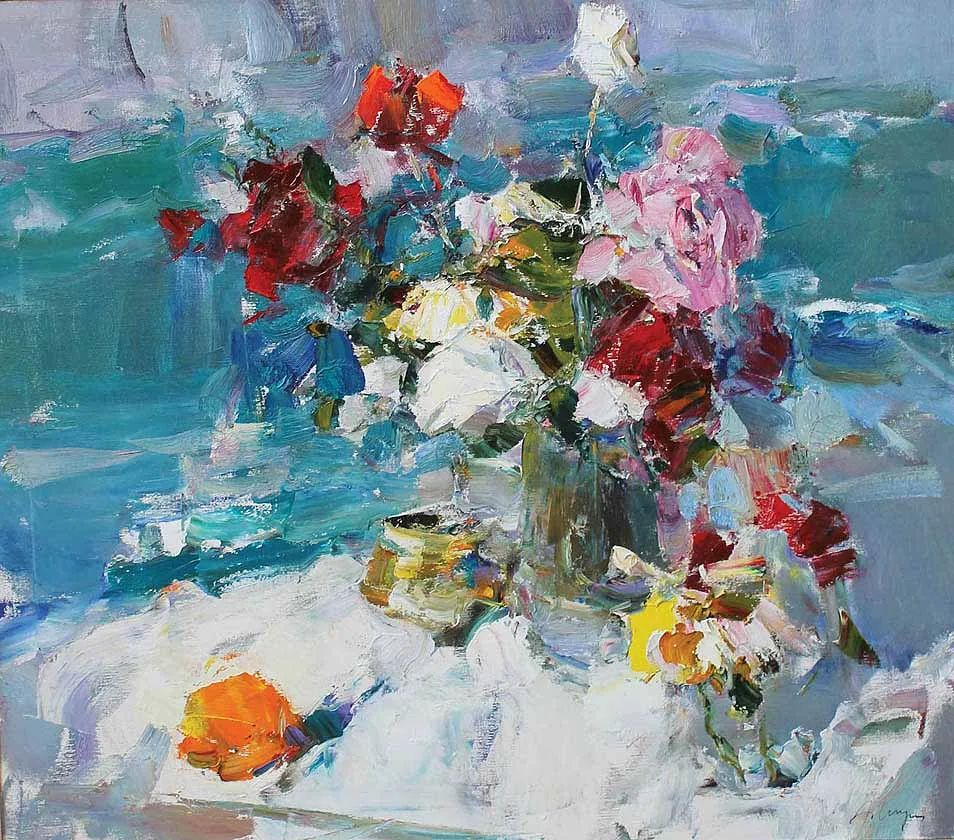 伊诺泽姆采夫的油画,总让人看了意犹未尽插图17
