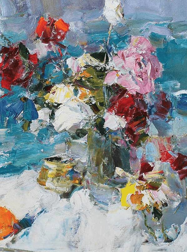 伊诺泽姆采夫的油画,总让人看了意犹未尽插图19
