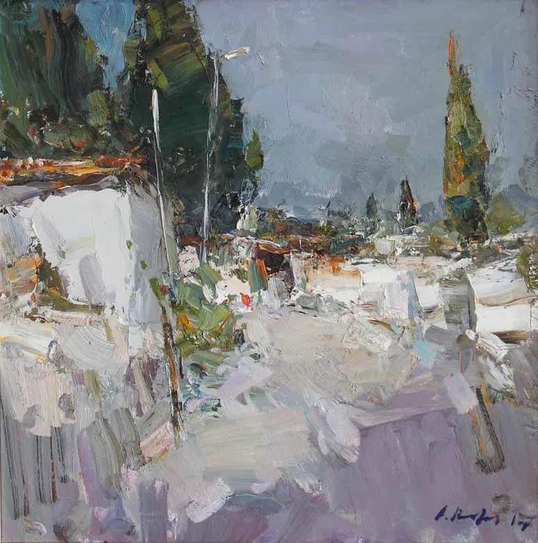 伊诺泽姆采夫的油画,总让人看了意犹未尽插图50