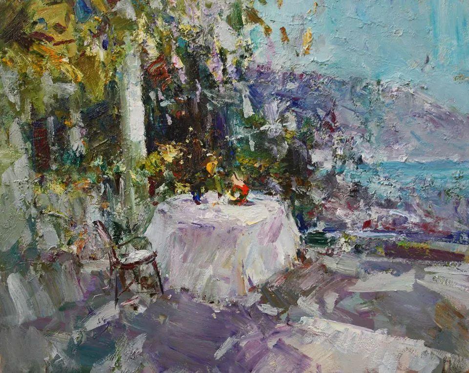 伊诺泽姆采夫的油画,总让人看了意犹未尽插图64