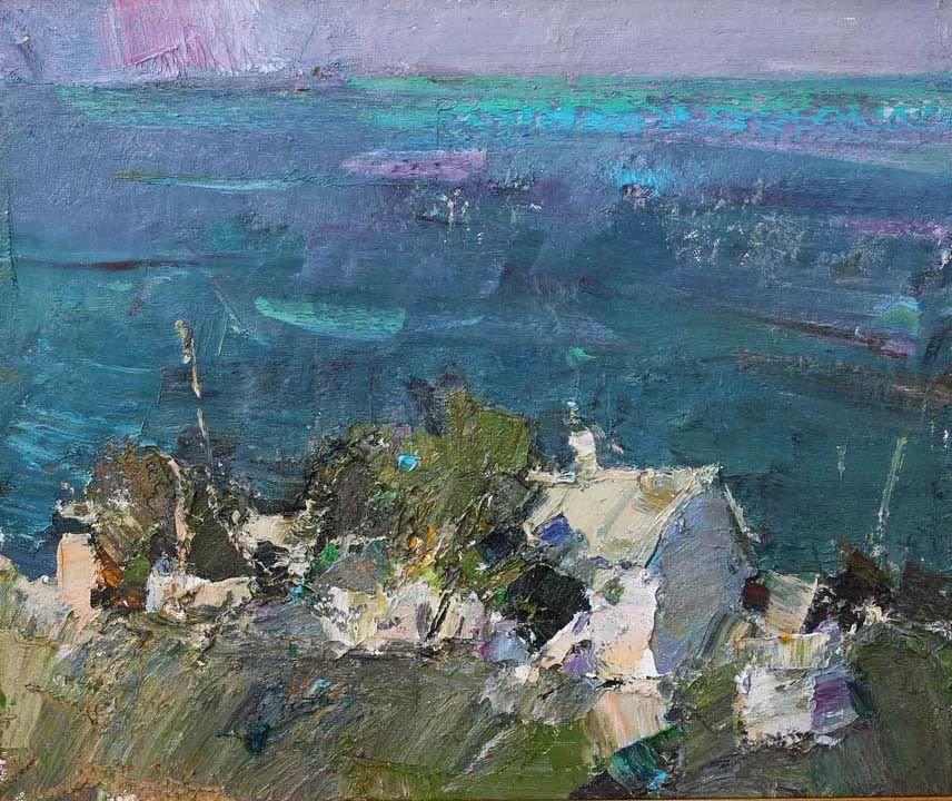 伊诺泽姆采夫的油画,总让人看了意犹未尽插图66
