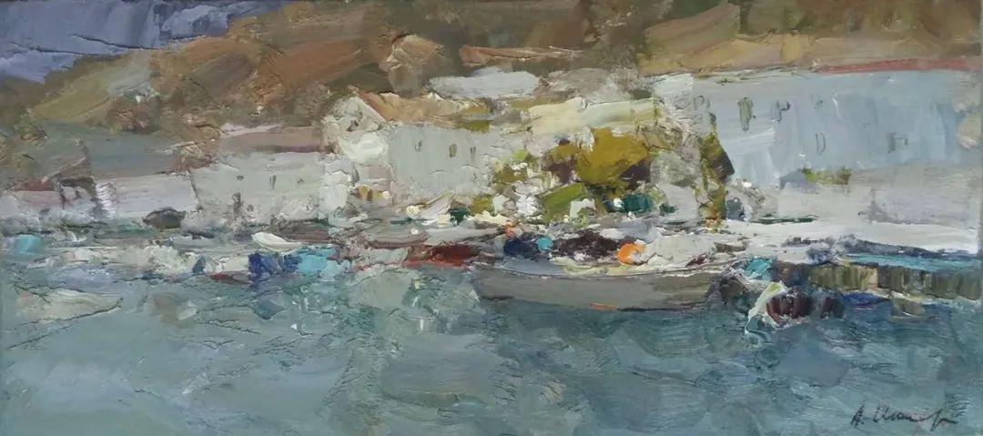 伊诺泽姆采夫的油画,总让人看了意犹未尽插图68