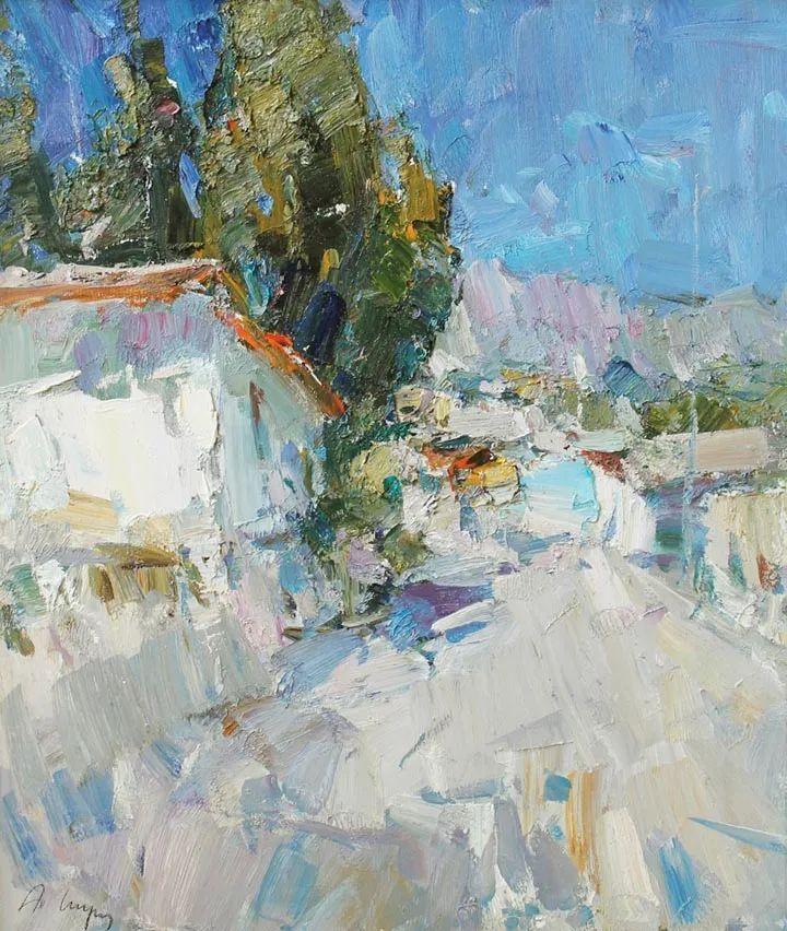 伊诺泽姆采夫的油画,总让人看了意犹未尽插图72