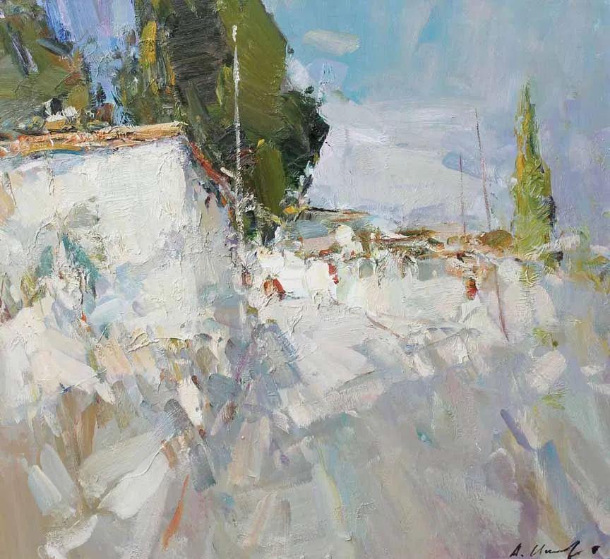 伊诺泽姆采夫的油画,总让人看了意犹未尽插图74