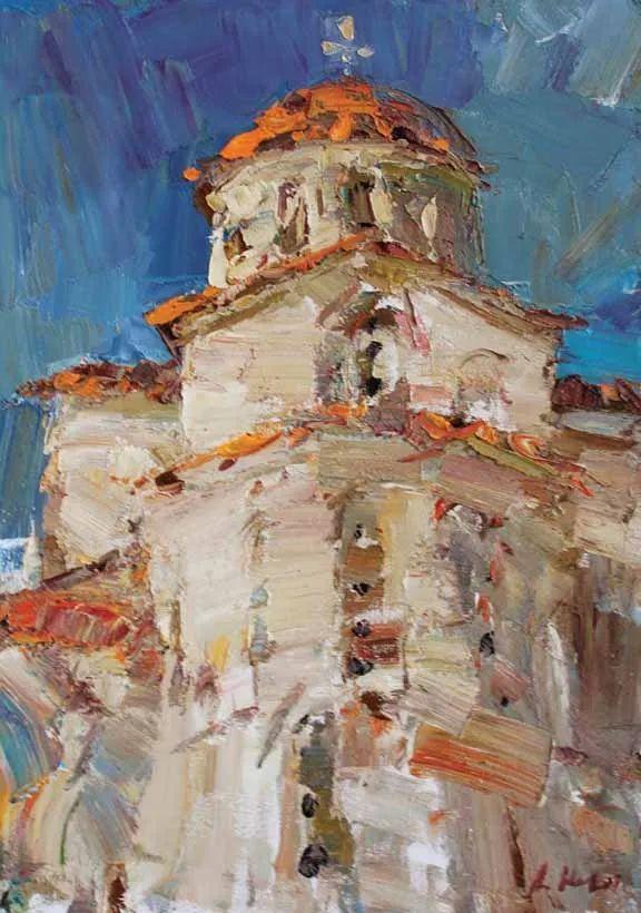 伊诺泽姆采夫的油画,总让人看了意犹未尽插图80