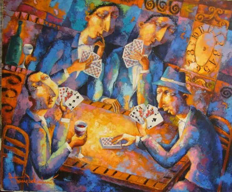 独特而细致的绘画,乌克兰画家波苏杰夫斯基!插图14