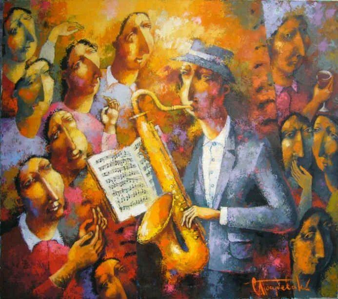 独特而细致的绘画,乌克兰画家波苏杰夫斯基!插图15