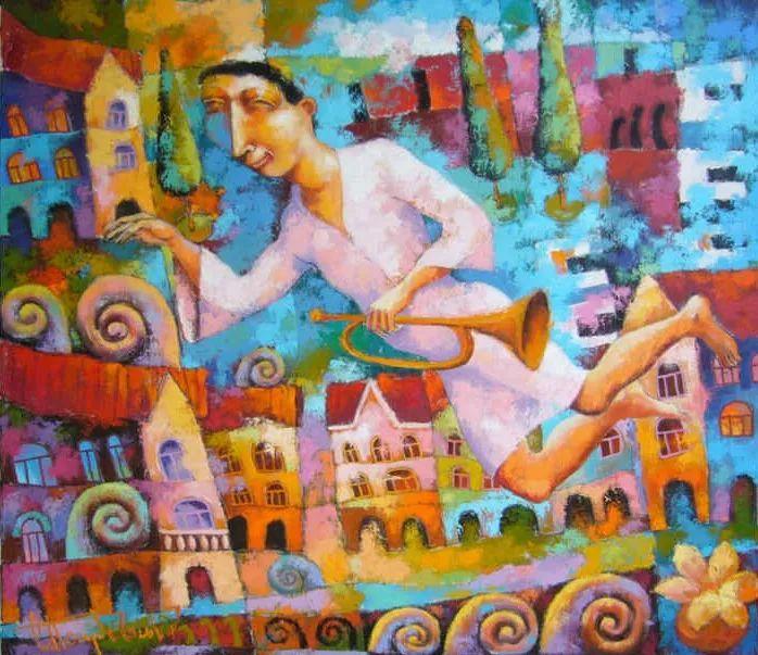 独特而细致的绘画,乌克兰画家波苏杰夫斯基!插图17