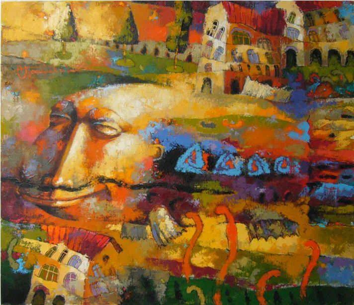 独特而细致的绘画,乌克兰画家波苏杰夫斯基!插图19