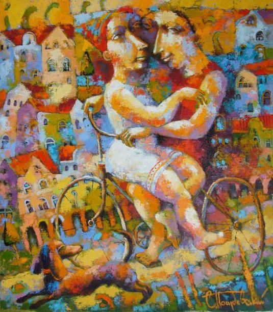 独特而细致的绘画,乌克兰画家波苏杰夫斯基!插图21