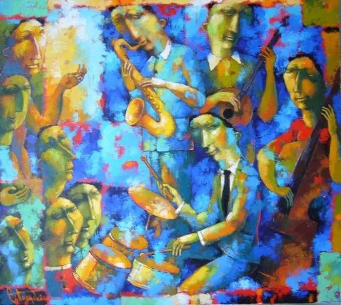 独特而细致的绘画,乌克兰画家波苏杰夫斯基!插图23