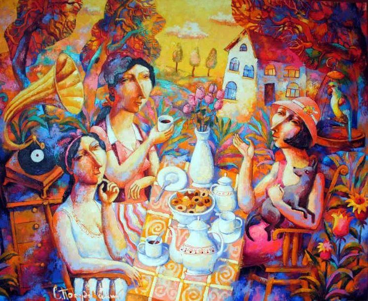 独特而细致的绘画,乌克兰画家波苏杰夫斯基!插图33
