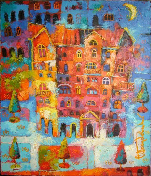 独特而细致的绘画,乌克兰画家波苏杰夫斯基!插图41