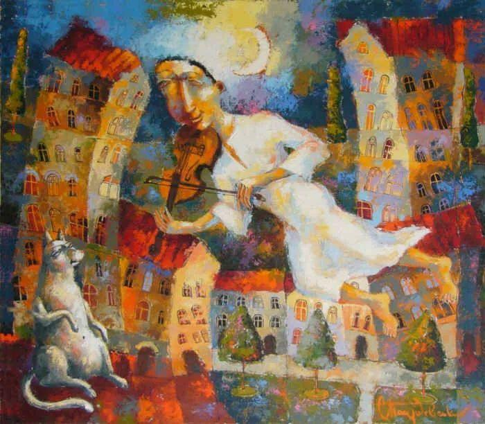 独特而细致的绘画,乌克兰画家波苏杰夫斯基!插图45