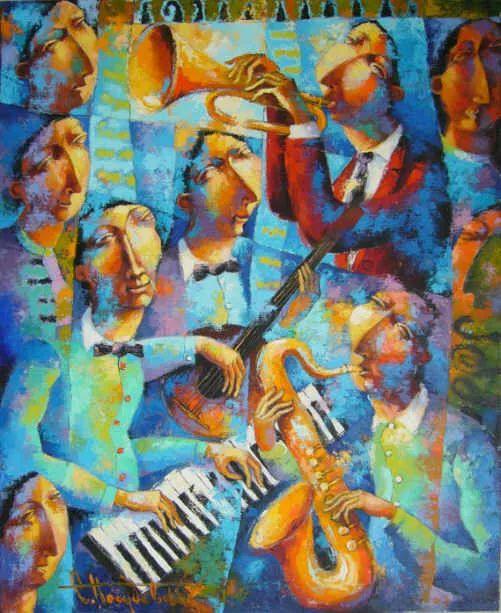独特而细致的绘画,乌克兰画家波苏杰夫斯基!插图53