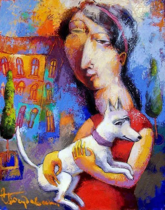 独特而细致的绘画,乌克兰画家波苏杰夫斯基!插图57