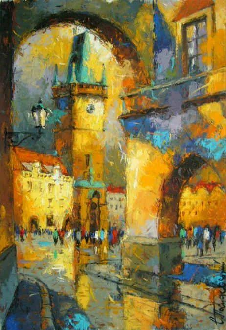 独特而细致的绘画,乌克兰画家波苏杰夫斯基!插图59