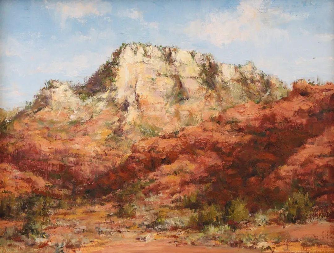 罗伯特·约翰逊笔下精美的风景、花卉油画插图9