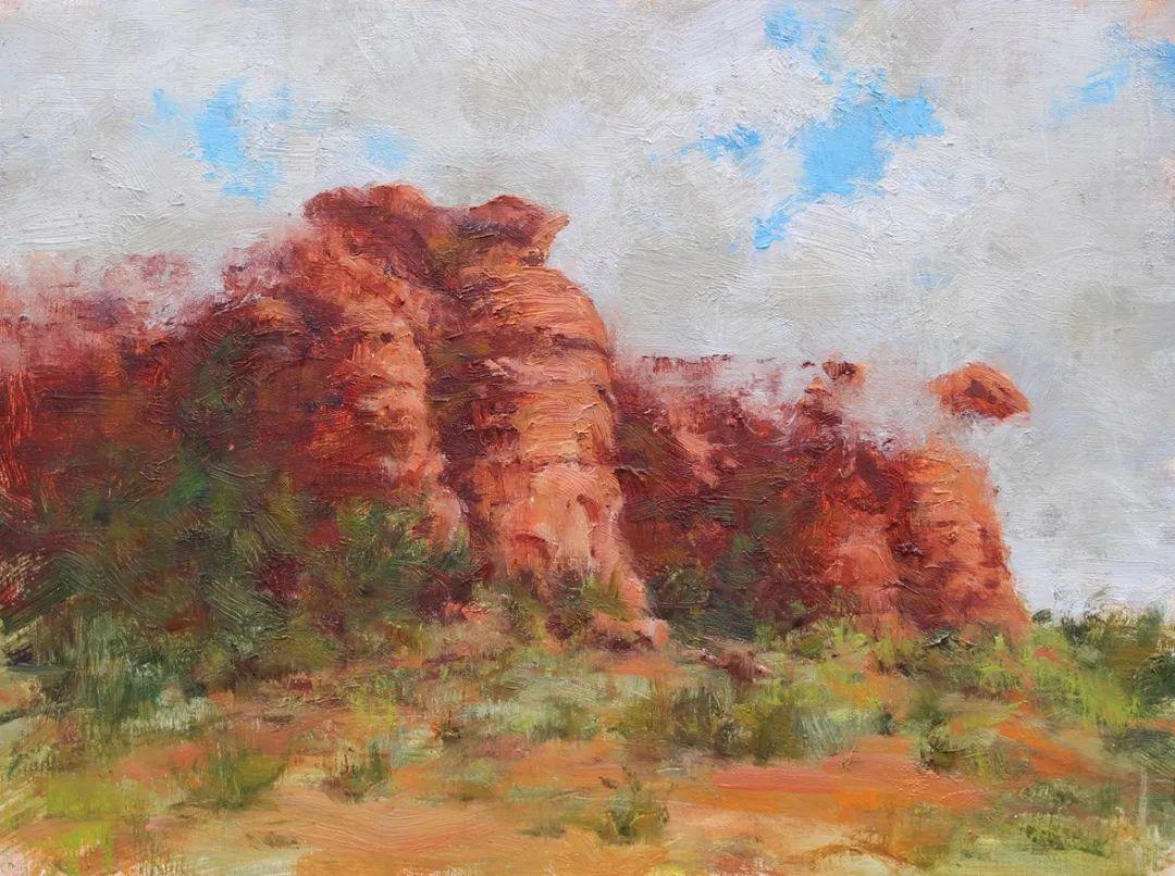 罗伯特·约翰逊笔下精美的风景、花卉油画插图13