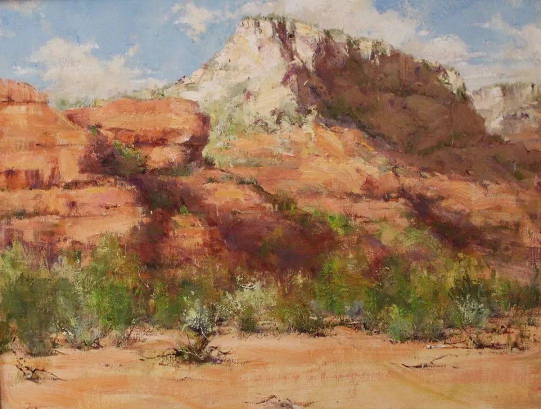 罗伯特·约翰逊笔下精美的风景、花卉油画插图17