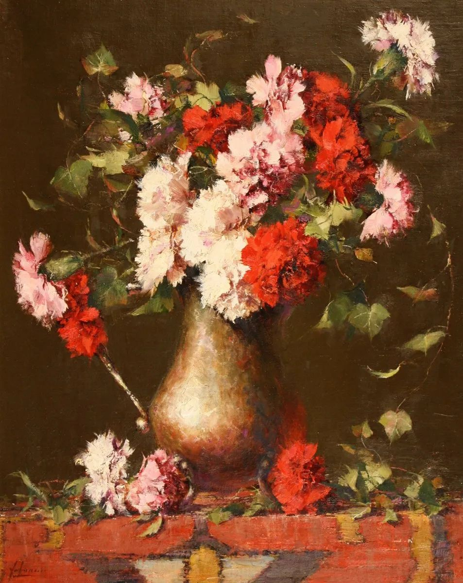罗伯特·约翰逊笔下精美的风景、花卉油画插图25