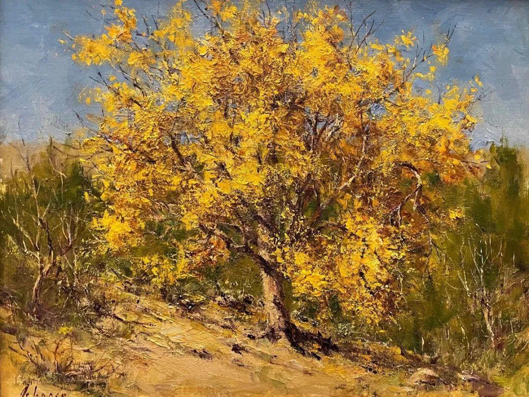 罗伯特·约翰逊笔下精美的风景、花卉油画插图29