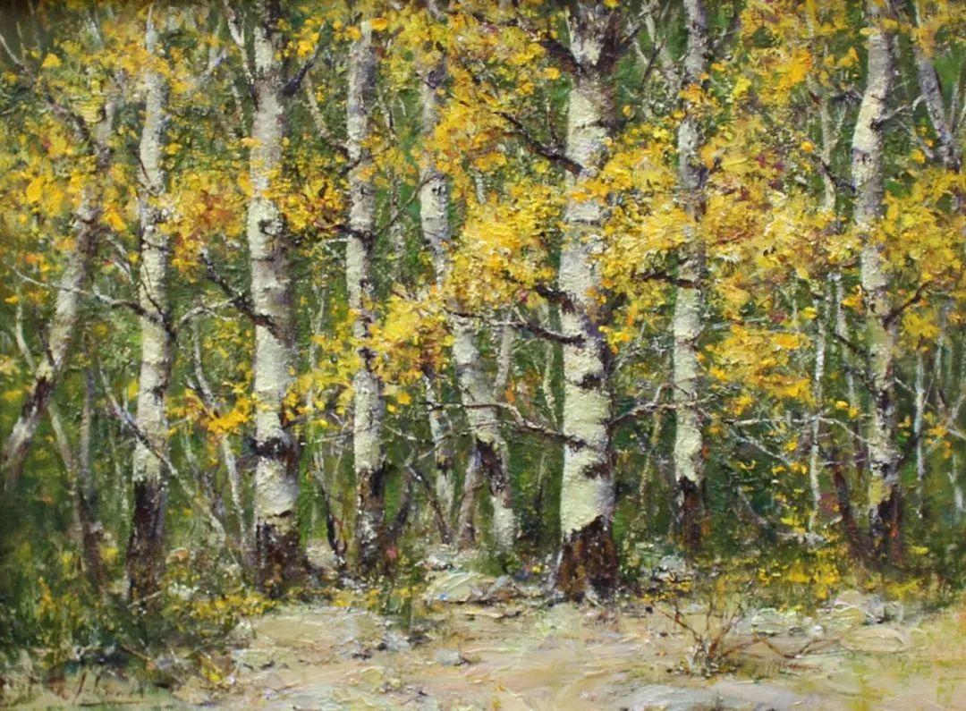 罗伯特·约翰逊笔下精美的风景、花卉油画插图31