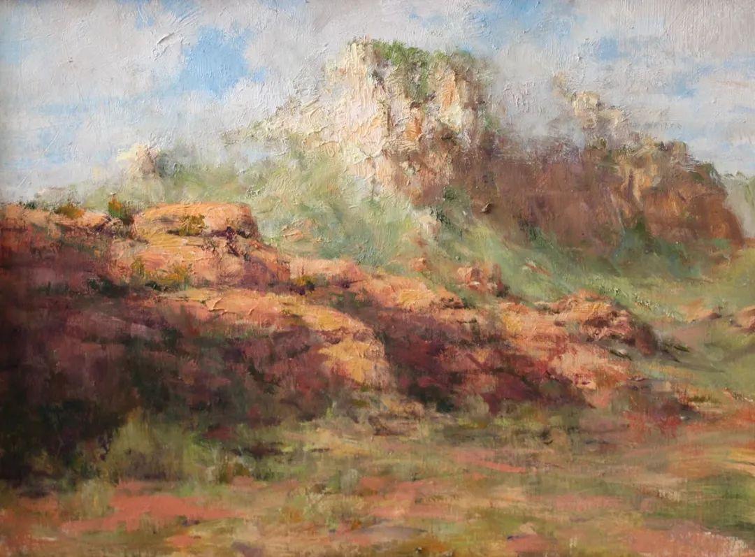 罗伯特·约翰逊笔下精美的风景、花卉油画插图33