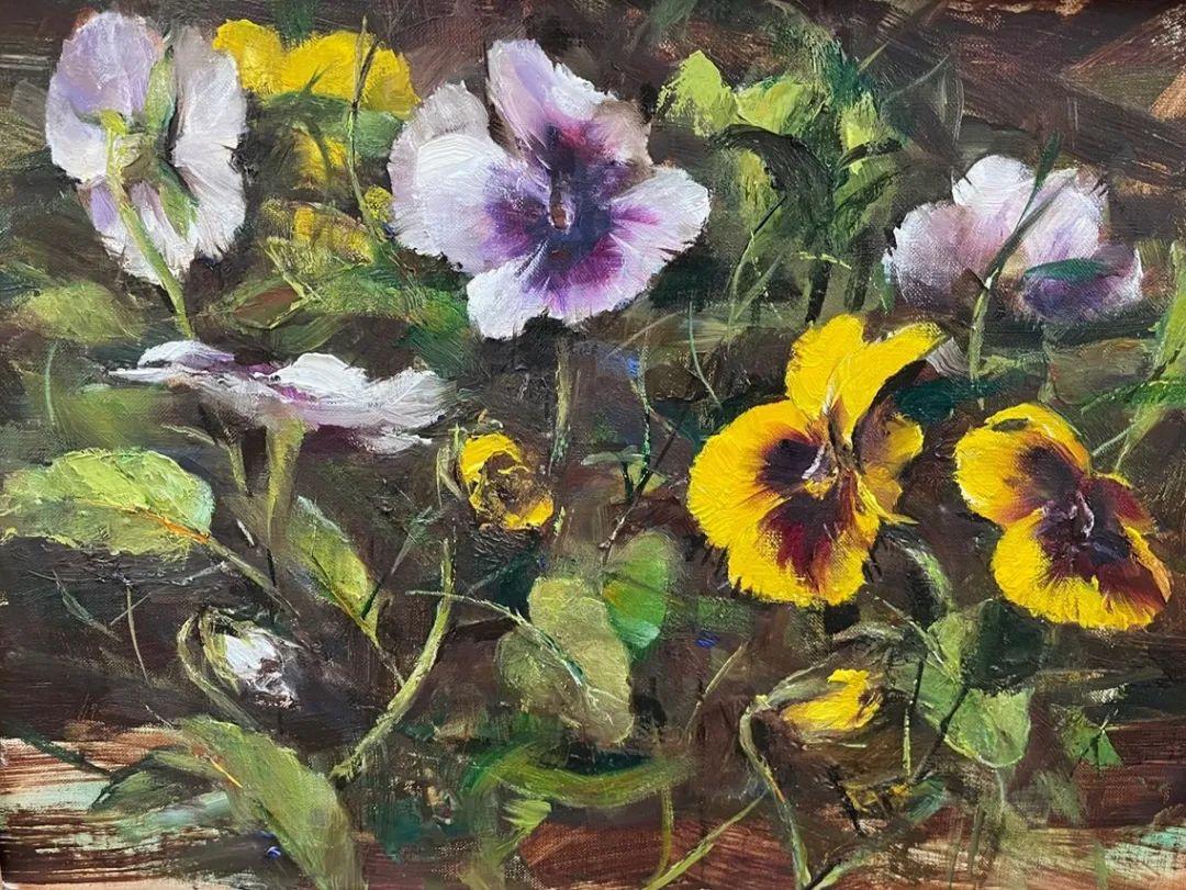 罗伯特·约翰逊笔下精美的风景、花卉油画插图45