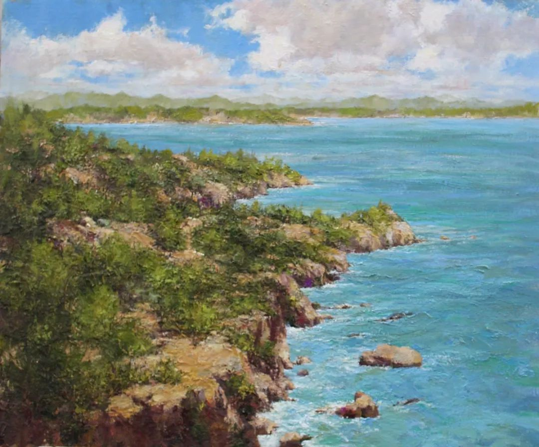 罗伯特·约翰逊笔下精美的风景、花卉油画插图55