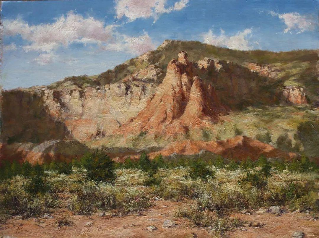 罗伯特·约翰逊笔下精美的风景、花卉油画插图59