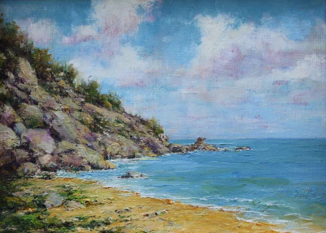 罗伯特·约翰逊笔下精美的风景、花卉油画插图63