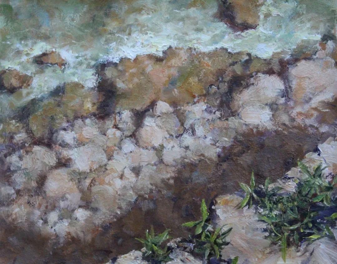 罗伯特·约翰逊笔下精美的风景、花卉油画插图71